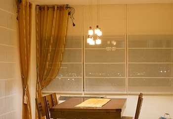 Motorized Roman Shades in Altadena | Pasadena Blinds & Shades, LA